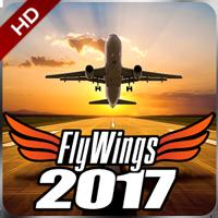 Flight Simulator 2017 FlyWings HD
