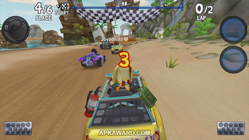 Beach Buggy Racing 2 Apk Mod Obb 1 7 0 Download Free For Android