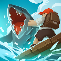 Epic Raft: Fighting Zombie Shark Survival